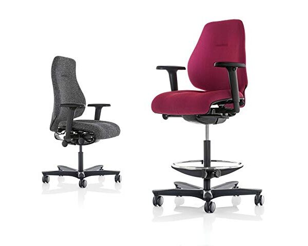 Spira Plus Mid Back Chair with Arms and Headrest
