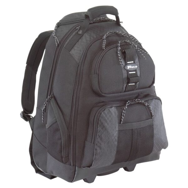 "Wheeled Laptop Backpack (for laptops up to 15.6"")"