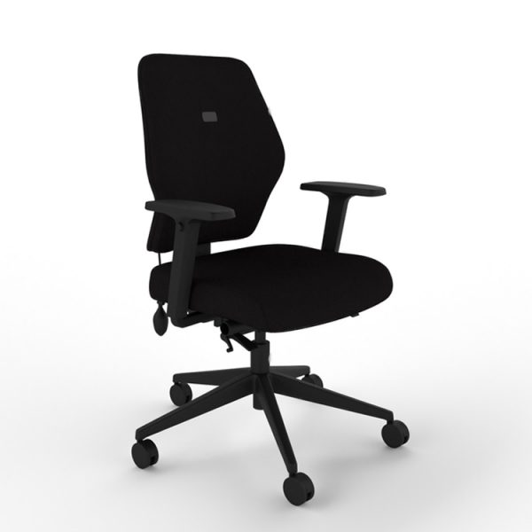 mi-ergo M100 Medium Back Chair with Multifunction Arms